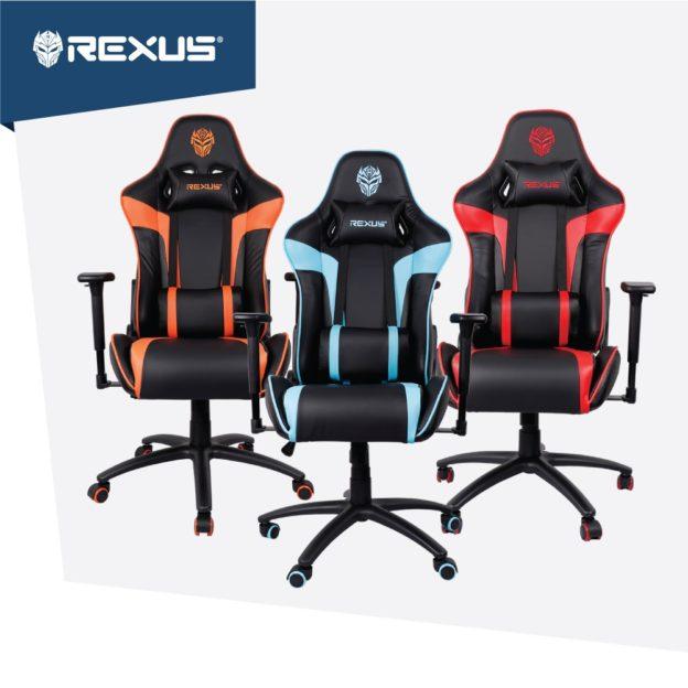 Rexus RG C103 : kursi gaming flat low budget